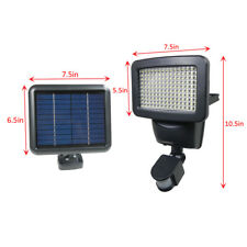 150 Smd Led Solar Powered Black Motion Sensor Security Light Flood 60 80 100
