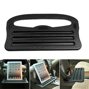 Car Steering Wheel Tray Cup Holder Laptop Desk Chair Dining Table For IPad Sj
