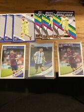 Donruss Soccer Lionel Messi Lot