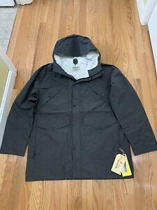 Burton Snowboards Nightcrawler Rain Jacket True Black Mens Sz L NWT $149.95
