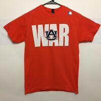 Auburn Tigers T-Shirt War Eagle Name With Logo Tee Color Orange - New