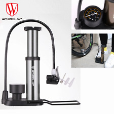 Mini Bike Bicycle Air Pump With Pressuare Gause Foot Pump Schrader Presta Valve