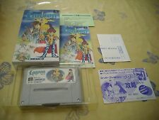 >> LAGOON KEMCO ACTION RPG SFC SUPER FAMICOM JAPAN IMPORT COMPLETE IN BOX! <<