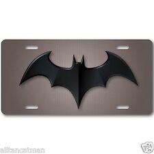 Batman Aluminum License Plate Tag  Baked on Finish Cool New Vanity Dark Knight 1