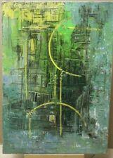 Paolo da San Lorenzo olio su tela di juta 50x70 Abissi dell'anima 2006 Materico