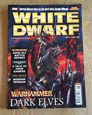 WHITE DWARF MAGAZINE. PUNTO 344, agosto 2008