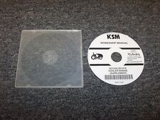 Kubota ZG123S ZG127S Lawn Mower Tractor Service Repair Manual Supplement DVD