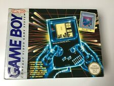 Nintendo Game Boy Grey Handheld System - Original Boxed