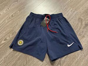 Nike F.C. Woven Football Club Men Soccer Mesh lining Shorts Navy CD0580-451 NEW