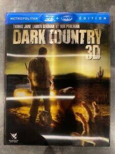 DARK COUNTRY 3D film avec THOMAS JANE et RON PERLMAN en BLU RAY 3D Zone B + DVD