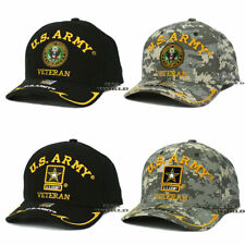 U.S. ARMY VETERAN hat cap Military Official Licensed Embroidered Baseball cap