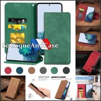 Etui Coque Housse VINTAGE Cuir PU Leather Wallet Case Cover Huawei P Smart 2021