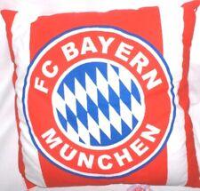 FC Bayern München  Kissen, rot/blau/weiß Logo, ca.35x35 cm --Neu,Lizenz,Rarität