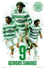 Celtic FC: GIORGOS SAMARAS-Maxi poster 61 CM x 91.5 cm Nuovo e Sigillato