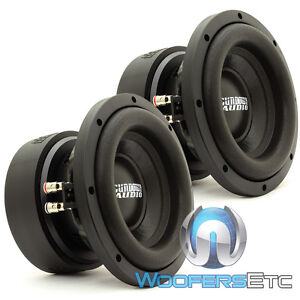 "(2) SUNDOWN AUDIO E-8 V.5 D2 8"" SUBS 300W RMS DUAL 2-OHM CAR SUBWOOFERS SPEAKERS"