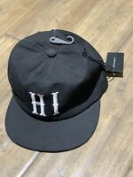 Bascom Projects HI Hawaii Hat Cap With Adjustable Leather Strap Back Cotton