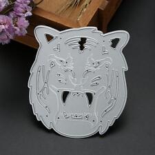Tiger Head Metal Cutting Die Stencil DIY Scrapbooking Album Card Craft Embossing