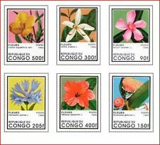 CON9603 Flowers 6 stamps