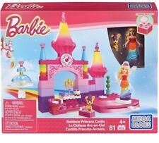 Barbie Rainbow Princess Castle Mega Bloks