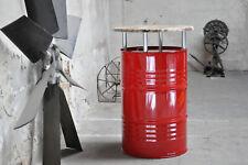 Stehtisch Bartisch aus 200 Liter Fass Ölfass Metallfass Farbe nach Wahl