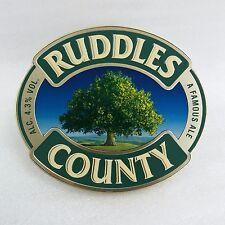 RUDDLES COUNTY  Plastic Pump Clip - NEW  - Home Bar - Pub - Collector