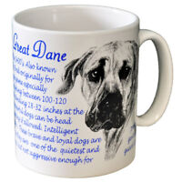 Great Dane - Ceramic Coffee Mug - Dog Origins Breed