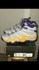 official photos f1086 7290b JEREMY LIN CRAZY 8 ADIDAS SNEAKERS LAKERS COLORWAY SIZE 12
