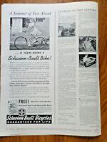 1941 Schwinn-Built Bicycles Ad   Movie Hollywood Star Brenda Joyce