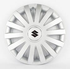 """Suzuki Genuine Set Of 4 15"""" Wheel Trim Cover Hub Caps in Silver 990E0-86G37-000"""