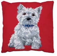 "Anchor WESTIE  Cushion Front Needlepoint Tapestry Kit 15.75"" SQ"