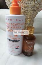 PURE EGYPTIAN MAGIC WHITENING PAPAYA FACE &  BODY LOTION 300ML+SERUM