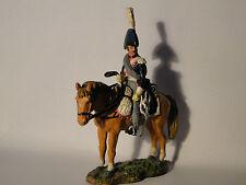 Del Prado Napoleonische Kriege Zinnfigur  Reiter Trooper Dutch Carabiniers 1815