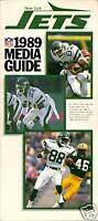 1989 New York Jets NFL Football Media Guide