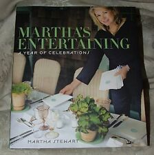 NEW 2011 First Edition Martha's Entertaining A Year of Celebrations STEWART DJ