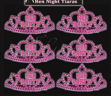 50 Miss Behave Hen Party Bride to be Night Hot Pink Mini Tiara Accessory Costume