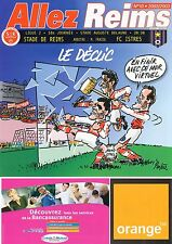 PROGRAMME STADE REIMS / FC.ISTRES LIGUE 2 18e JOURNEE 2002/2003 STADE DELAUNE