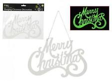 Plastic Christmas Wall & Hanging Decorations
