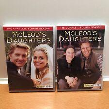 McLeod's Daughters: PARTIAL 4th Season DVD, 2007, Episodes 83-90 & 91-98 4 Discs
