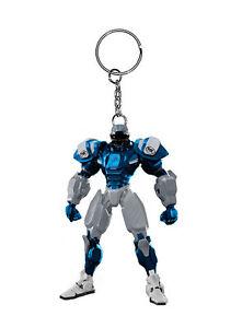 Detroit Lions Robot Keychain