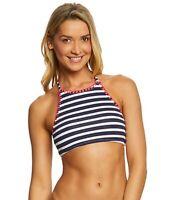 Tommy Bahama Womens High Neck Halter Bikini Top