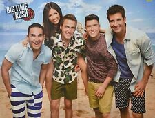 BIG TIME RUSH & VICTORIA JUSTICE - A2 Poster (XL - 42 x 55 cm) - Clippings NEU