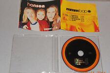 MAXI SINGLE CD Hanson-Mmm Bop 4. tracks 1997 molto ben 178 single 1