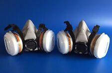 **Two** Gerson 2K Paint Respirator Face Masks - Smart Repair