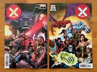 X-MEN #2  Yu Main Cover + Lim 2099 Variant Set Hickman Marvel 2019 NM+