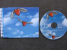 "U2 If God Will Send His Angels 5"" CD PROMO DIFFERENT PS UK 1997 ORIGINAL!"