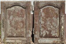 Paire D ancienne Porte en Chêne , De Meubles...Boiserie...Placard.. 75 x 54 c