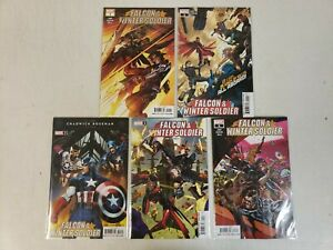 Falcon & Winter Soldier #1-5 1 2 3 4 5 MARVEL Complete Set Lot Series NM