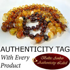 GENUINE BALTIC AMBER Extensions (13-15cm) for ADULT and CHILD necklaces AGbA®