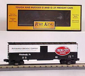 MTH 30-7831 Iron City Beer Reefer LN/Box