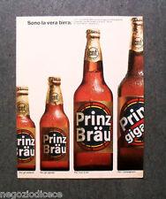 O244 - Advertising Pubblicità - 1967 - PRINZ BRAU  SONO LA VERA BIRRA